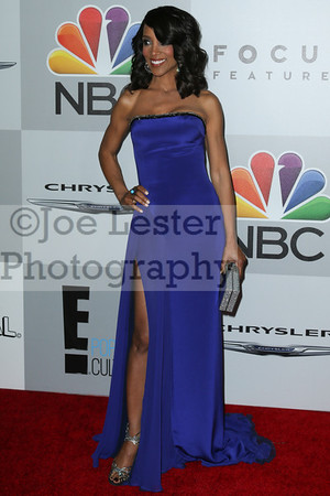 Shaun Robinson attends NBC Universal's 71st Annual Golden Globe Awards After party at The Beverly Hilton Hotel on January 12, 2014 in Beverly Hills, California. (Photo by Joe Lester/Press Line Photos)