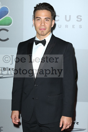 Olympic Skater Apolo Anton Ohno attends NBC Universal's 71st Annual Golden Globe Awards After party at The Beverly Hilton Hotel on January 12, 2014 in Beverly Hills, California. (Photo by Joe Lester/Press Line Photos)