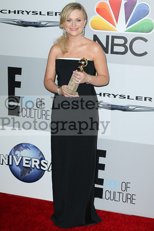 Amy Poehler attends NBC Universal's 71st Annual Golden Globe Awards After party at The Beverly Hilton Hotel on January 12, 2014 in Beverly Hills, California. (Photo by Joe Lester/Press Line Photos)