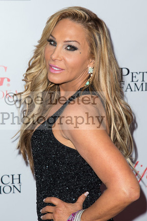 TV personality Adrienne Maloof attends the Zing Vodka and Adrienne Maloof Holiday Celebration on Wednesday December 19, 2013 in Beverly Hills, CA. (Photo by: Joe Lester / Press Line Photos)