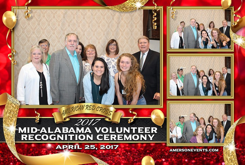 Red Cross Mid Alabama Recognition Ceremony 2017