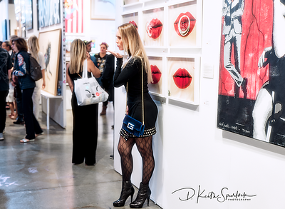 Red Dot Spectrum Art Basel