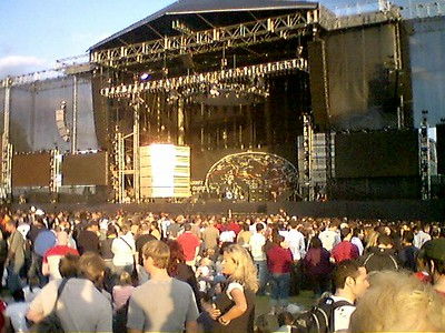 Red Hot Chili Peppers in Hyde Park 2005