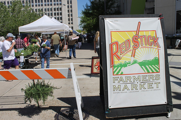 Red Stick Farmers Market 4-18-13