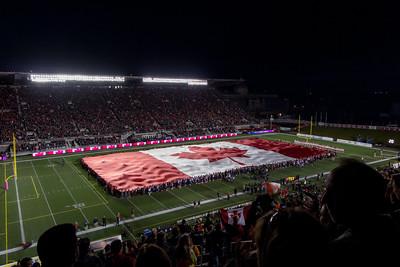 RedBlacks Football Game, Ottawa Ontario (2014)