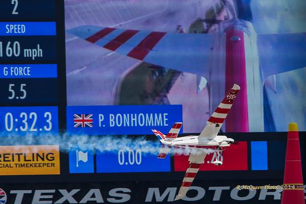 RedBull Air race At Texas Motor speedway -- Transportation