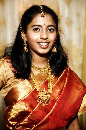 Ramya's Saree Ceremony