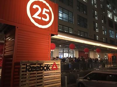 Reebok Boston Store Opening