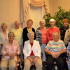 Classmates gather at a reunion of the 1950 Regina High School class reunion June 3 at Salem Heights. Back row from left, Philomina Picciano Dillhoff, Loretta Riley Luers, Joan Meyer Augenstein, Mary Lou Hewitt Weber, Marilyn McDermott Clements, Joan Schneider Crable, Pat Martin Benken, Ann Burwinkel Murray. Front row from left, Mary Kuntz Smiley, Margie Morford Donnelly, Barb Reinhart Powers, Mary Oaks Shea, Precious Blood Sister Katie Lett.