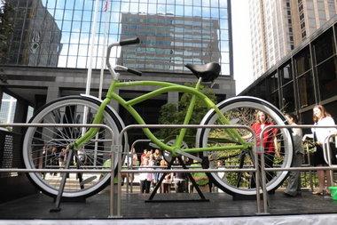 2010 Bike Tour - Big Bike.