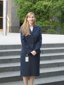 Kelly for 5yr service award photo - 2008.