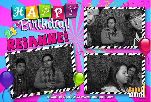 Reianne's 23rd Birthday Party