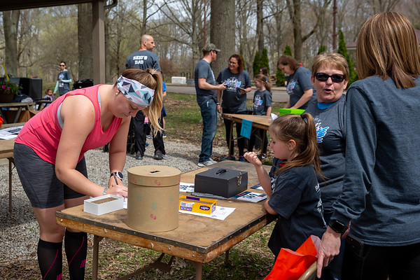 Reid's 5K Race at Ceraland Park on April 13, 2019. Photo by Tony Vasquez.