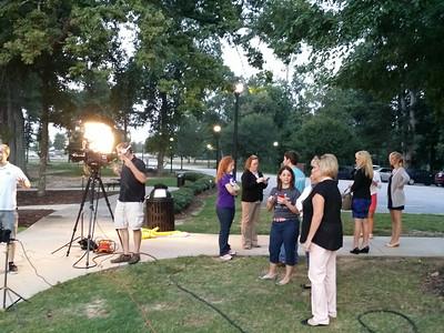 Carolina Fox 21 live on site