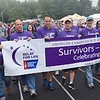 The survivor's parade kicks off the start of the American Cancer Society's Relay For Life at Mount Wachusett Community College on Friday evening. SENTINEL & ENTERPRISE / Ashley Green