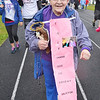 Shirley Peabody, of Baldwinville, a cancer survivor, walks for Team Tazmanian Angels at the Relay For Life at Mount Wachusett Community College on Friday evening.  SENTINEL & ENTERPRISE / Ashley Green