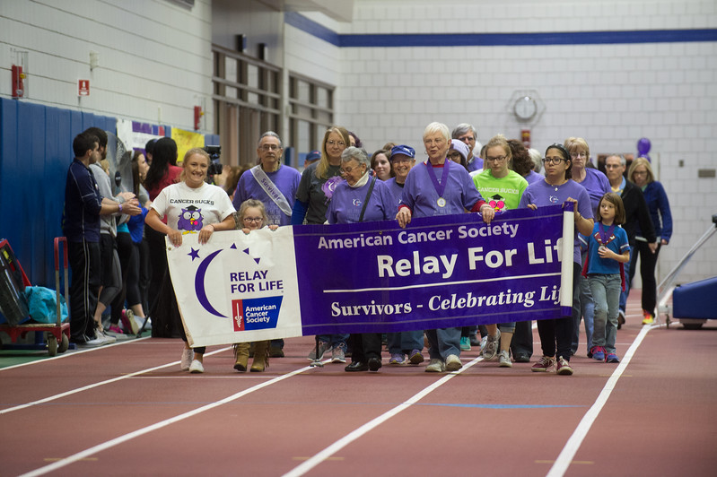 Relay for Life at Westfield State University, April 2017