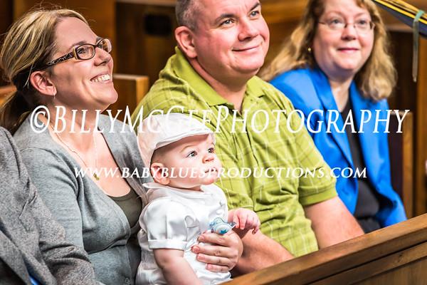 Baptism of Issac - 18 Oct 2014