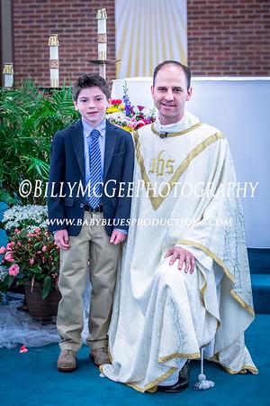 Mason 1st Communion - 02 May 2015