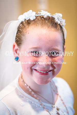 Sydney's First Communion - 12 May 2013
