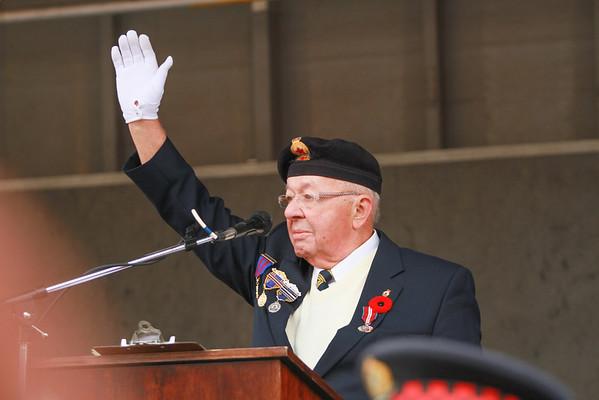 Rememberance Day Service - Cenotaph City Hall Burlington ON