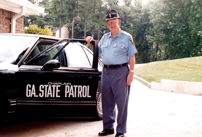 In addition to serving as a chaplain for the Georgia State Patrol, Msgr. R. Donald Kiernan was a chaplain to the DeKalb County police, Metro Atlanta police, Federal Bureau of Investigation and local division of the Bureau of Alcohol, Tobacco and Firearms. Photo By Michael Alexander