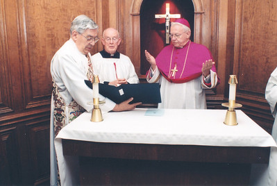 All Saints Chapel dedication Feb. 8, 1999;  See Feb. 25, 19999 issue;