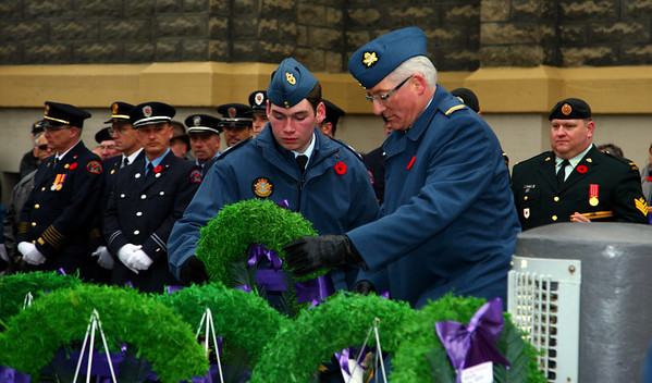 Laying of Official Wreaths