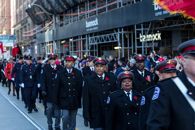 Remembrance Day Services 2016