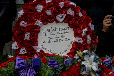 Remembrance Day Services - November 2016