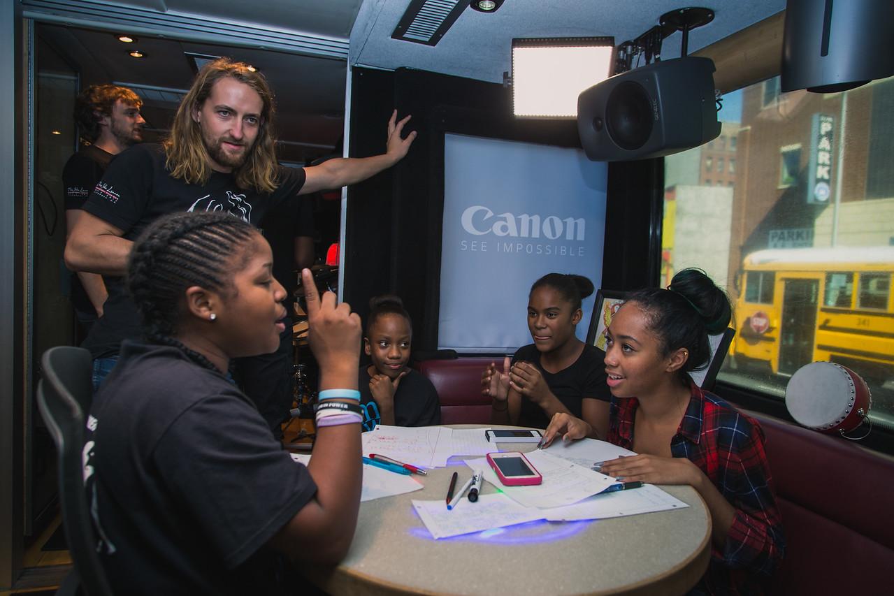 2015_09_17, Berklee City Music Network, Bronx, NY, NYResidency, Renaissance Youth Center, Hendrik Kuhling, Canon