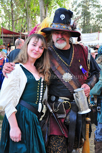 Renaissance Faire, Casa de Fruta, Hollister, California. October 2008