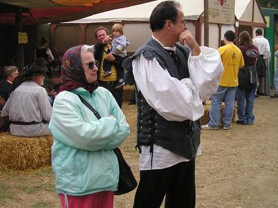 Renaissance Pleasure Faire, Hollister 2006: My cohorts.