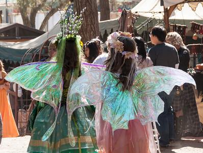 Transluscent fairies.