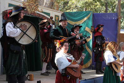 The musical group--the Naughty Minstrels, I believe.