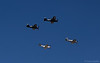 Getting ready for missing man formation. Tribute to the crash victims.  September 16, 2012.