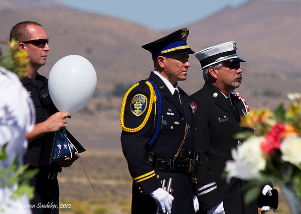 Tribute to the crash victims. September 16, 2012.