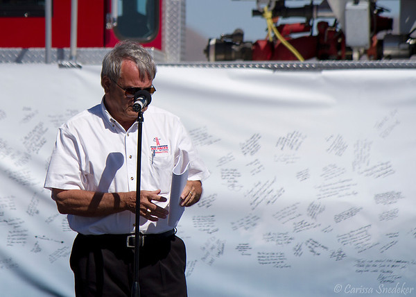 Tribute to the crash victims. Mike Houghton. September 16, 2012.