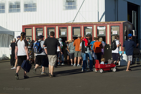 Pit pass box office.