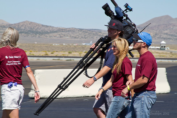 Jennie, Julie and Channel 2 camera guy