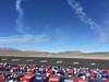 Breitling Jet team did some amazing formation aerobatics.
