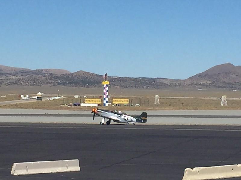 Unlimited race plane.