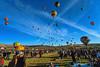 Colorful Hot Air Ballooms