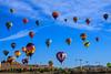 Mass Balloon Ascension