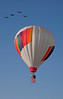 Fly over 1st balloon to begin Mass Asccension