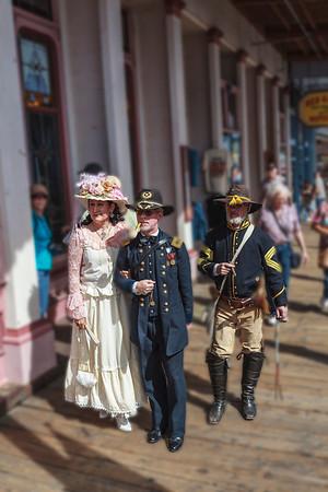 Virginia City Parade, Camel & Ostrich Race