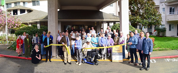 Renton Chamber Solstice Senior Living Ribbon Cutting
