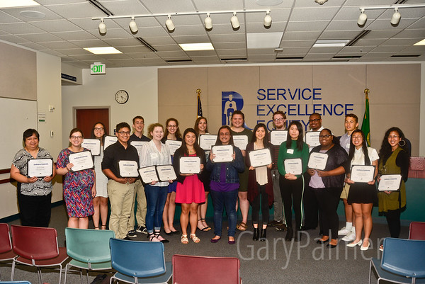 Renton Community Foundation Scholarship Award Ceremony 2018