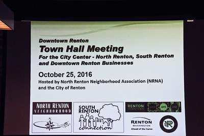 Renton Town Hall Meeting