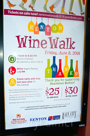Renton Wine Walk June 2018